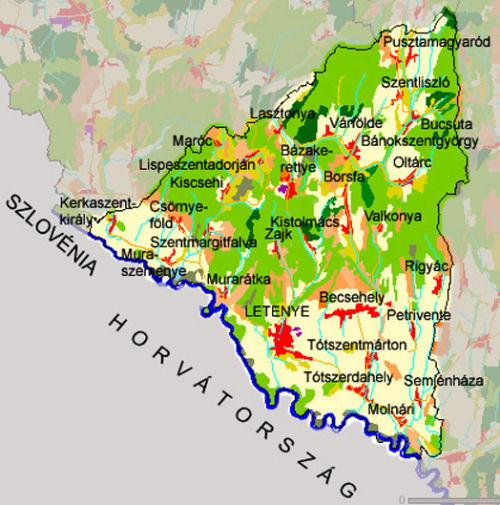 letenye térkép Letenyei Kistérség   szálláshelyek, vendéglátás, turizmus  letenye térkép